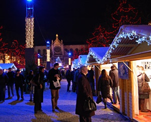 Kerstmarkt in Brussel