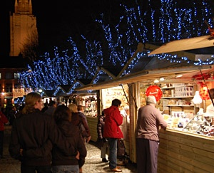 Kerstmarkt in Brugge