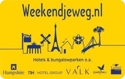 Weekendjeweg.nl card inleveren