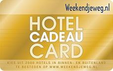 Hotel Cadeau Card Inleveren